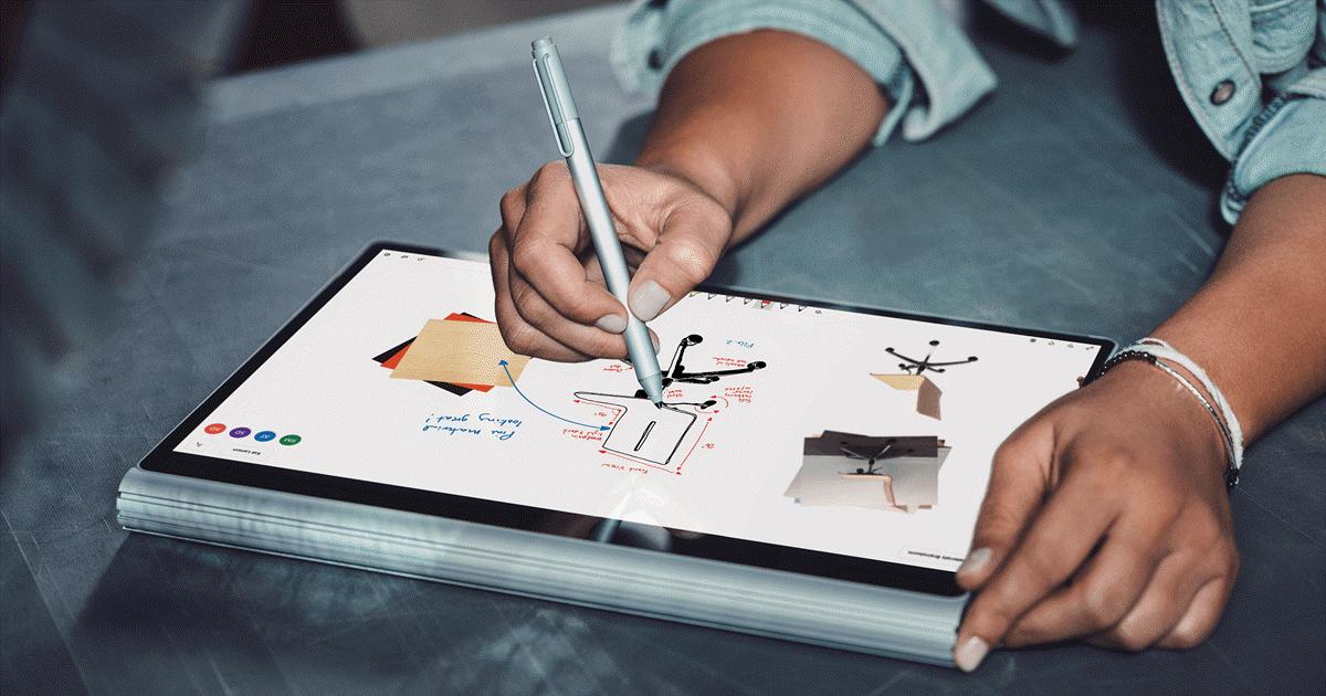 Novo aplicativo Microsoft Whiteboard é uma poderosa ferramenta para professores