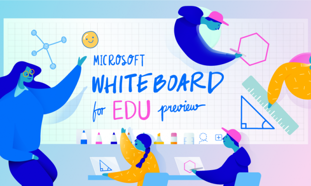 Colaboração na sala de aula com o Microsoft Whiteboard for Education